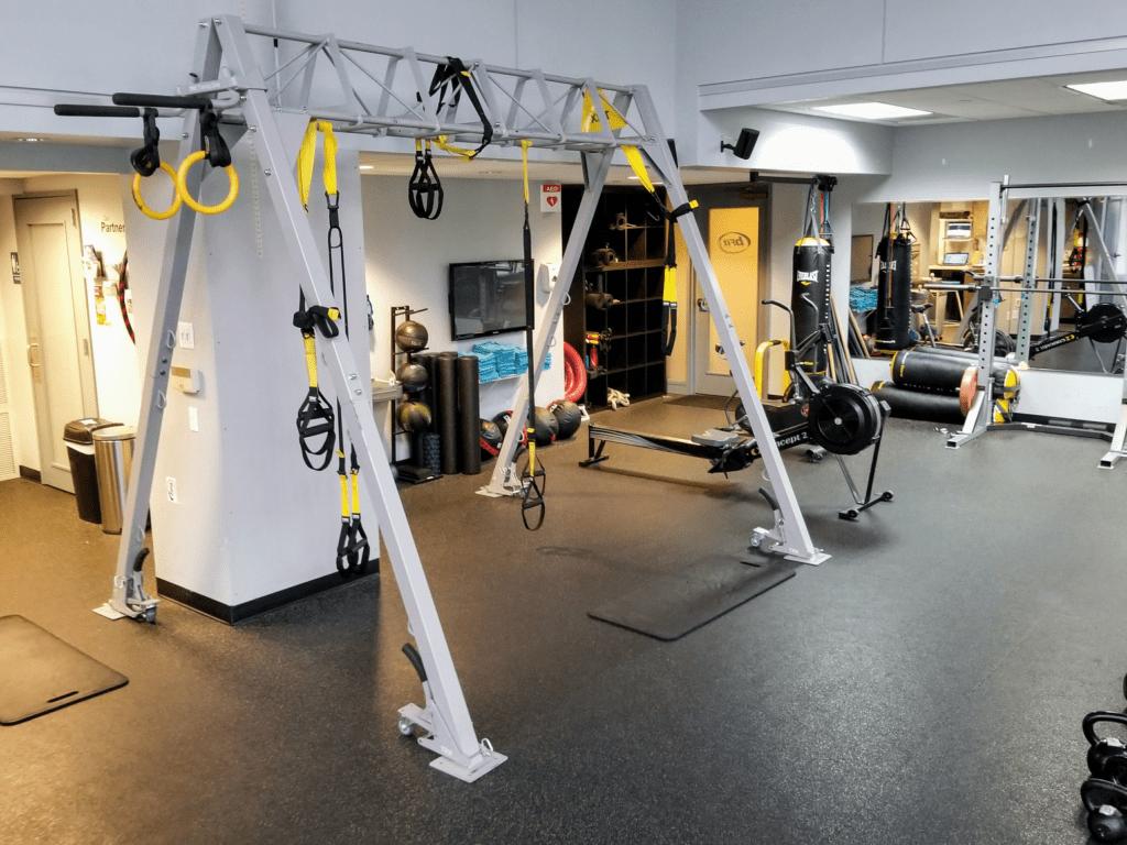 trx rack gym photo