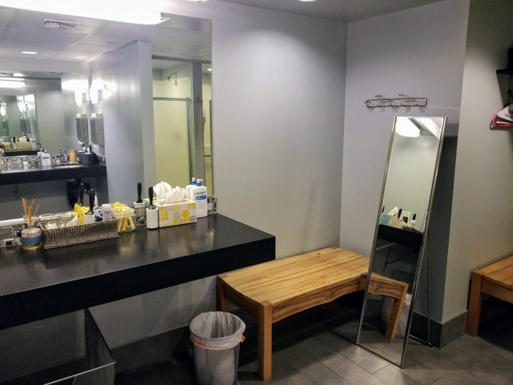 locker room amenities